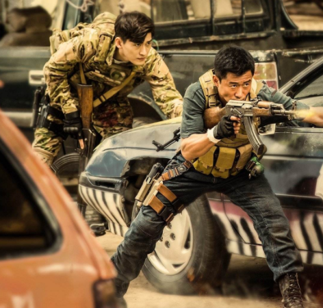 Movie poster for Wolf Warrior 2.[Photo: Agencies]