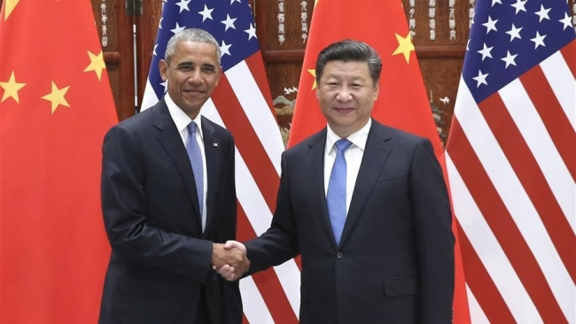 Chinese President Xi Jinping (R) meets with U.S. President Barack Obama in Hangzhou, capital city of east China's Zhejiang Province, Sept. 3, 2016. [Photo: Xinhua]