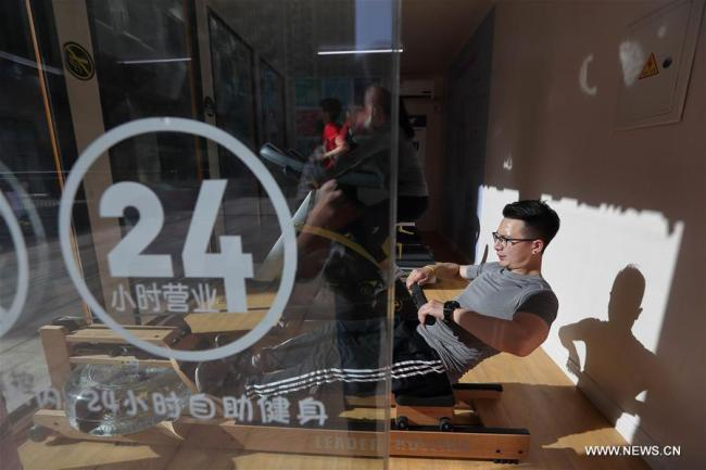 成都现24小时共享健身房 A look at 24 hour shared gym in Chengdu