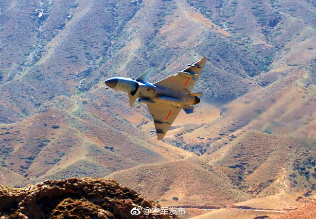 China's new multi-role fighter jet J-10C began combat duty Monday, April 16, 2018, the People's Liberation Army (PLA) air force announced.[Photo: Sina Weibo/China Air Force]