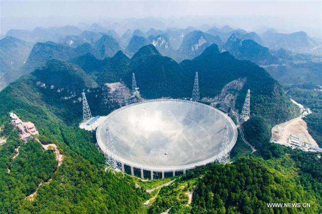 China's 500-meter Aperture Spherical Telescope (FAST) in Pingtang County, Guizhou Province [File photo: Xinhua]