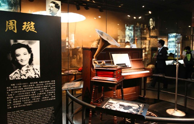 The piano Zhou Xuan played in her film [Photo: from China Plus]