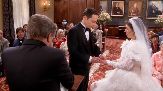 Sheldon And Amy Wedding.Review Of The Relationships On The Big Bang Theory China Plus