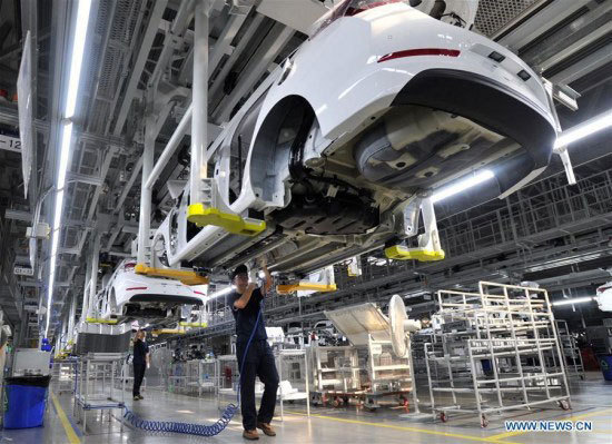 China's manufacturing activity expands slower in September