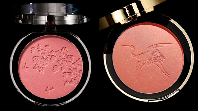 """Photo shows the blush released by the Palace Museum, December 11, 2018, just one day ahead of China's """"Double Twelve"""" online shopping promotion. The new collection includes lipsticks, eye shadows, blush and highlights based on historic Chinese themes. [Photo: The Palace Museum Taobao]"""