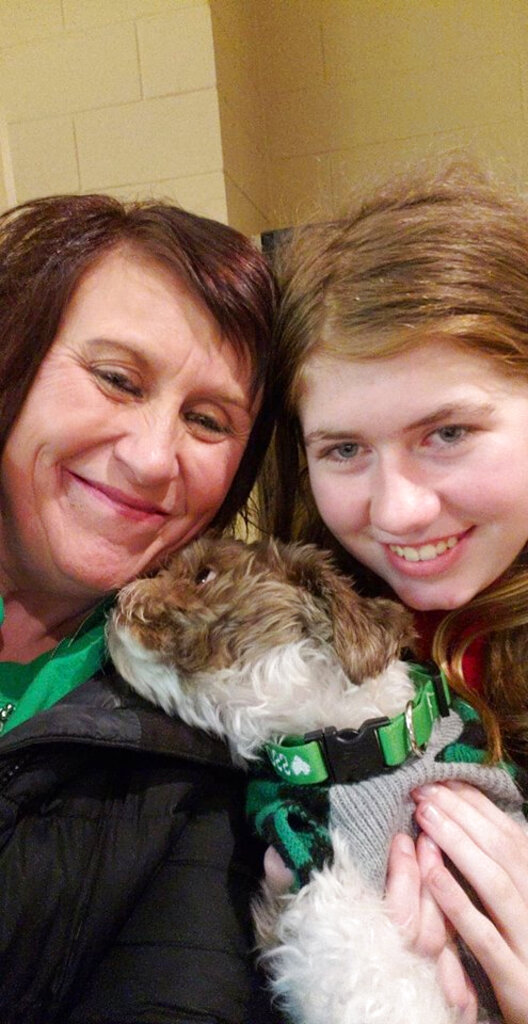 This Friday, Jan. 11, 2019 photo shows Jayme Closs, right, with her aunt, Jennifer Smith in Barron, Wis. Jake Thomas Patterson, a 21-year-old man killed a Wisconsin couple in a baffling scheme to kidnap Jayme Closs, their teenage daughter, then held the girl captive for three months before she narrowly managed to escape and reach safety as he drove around looking for her, authorities said. [Photo: Jennifer Smith via AP]