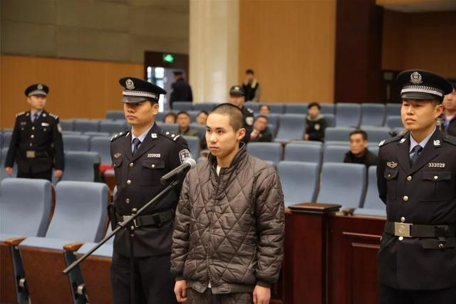 Didi hitch driver Zhong Yuan stands trial at the intermediate people's court of Wenzhou city, Zhejiang Province, on Friday, February 1, 2019. [Photo: The intermediate people's court of Wenzhou city]