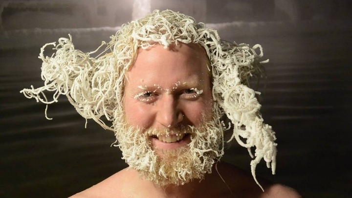 Hair Freezing Contest in Canada