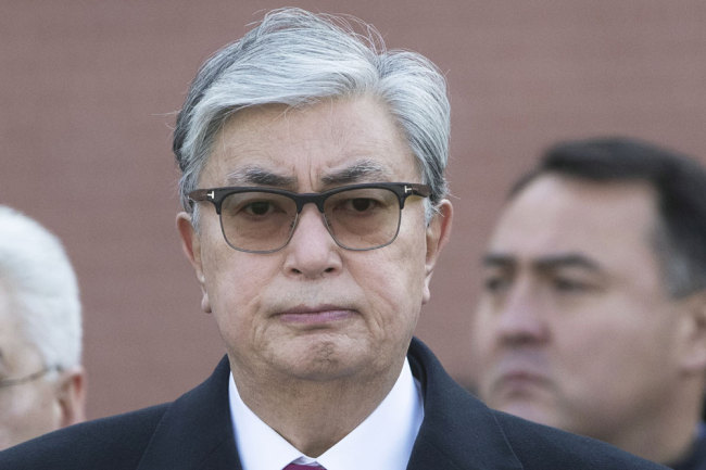 Kazakhstan's interim President Kassym-Jomart Tokayev [File photo: POOL/AFP/Pavel Golovkin]