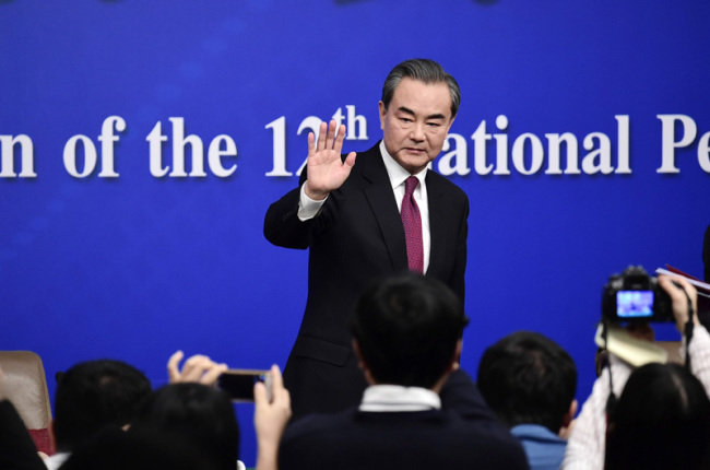Chinese State Councilor and Foreign Minister Wang Yi [File Photo: fmprc.gov.cn]