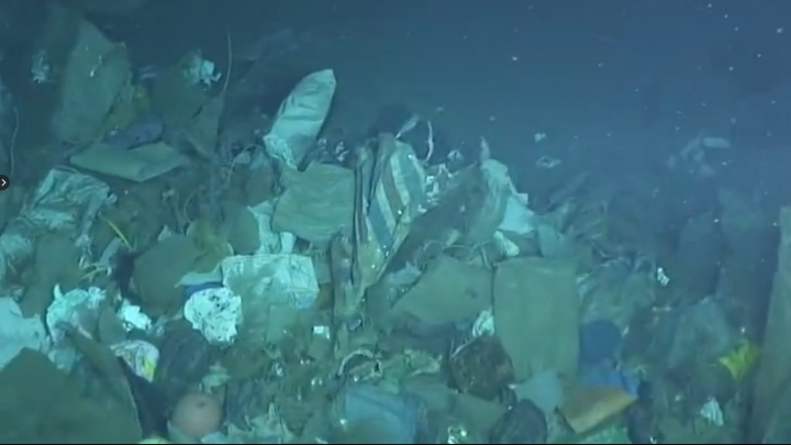 Large deep-sea garbage patch discovered by Chinese submarine