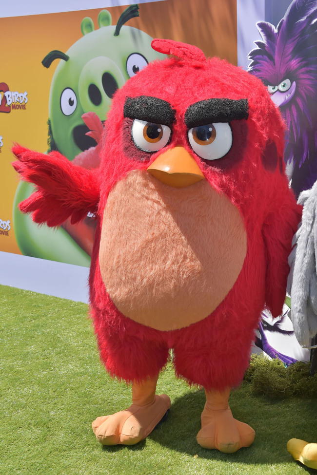 Premiere of 'The Angry Birds Movie 2' at the Westwood Regency Theater, Los Angeles, on October 08, 2019. [Photo: IC]