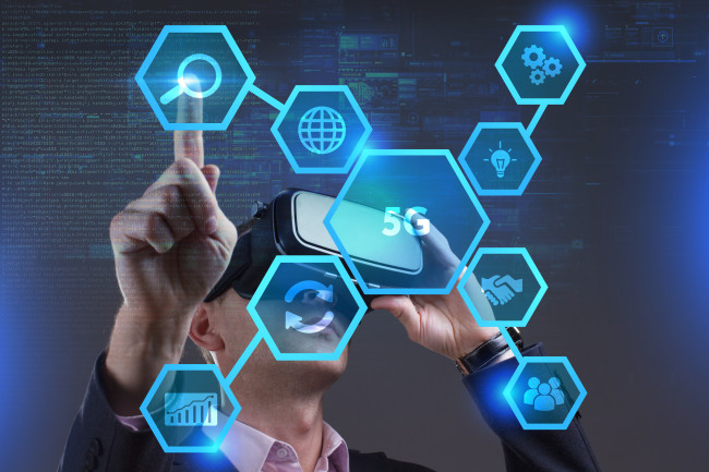 5G technology and artificial intelligence are some of the innovative technologies playing a growing role in driving China's economic development. [File photo: IC]