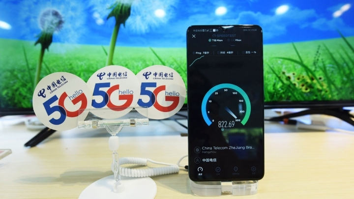 Huawei's first 5G smartphone on sale in China