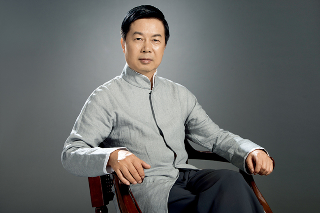 Xi Qiang, president of China National Traditional Orchestra. [Photo courtesy of CNTO]