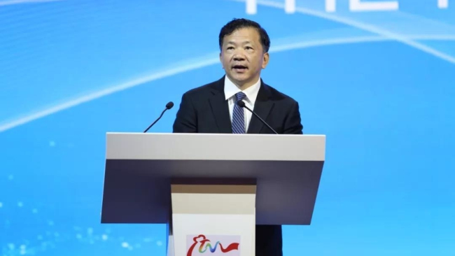 Shen Haixiong, the Vice Minister of the Publicity Department of CPC Central Committee and the head of China Media Group(CMG) [Photo: CCTV]
