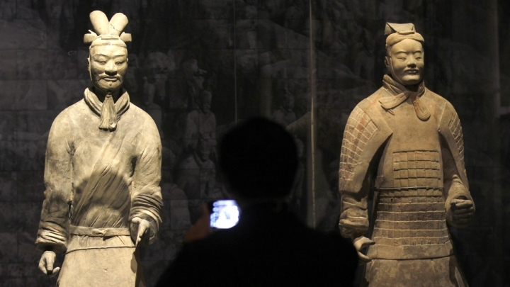 China's Terracotta Warriors attract thousands of visitors in Thailand