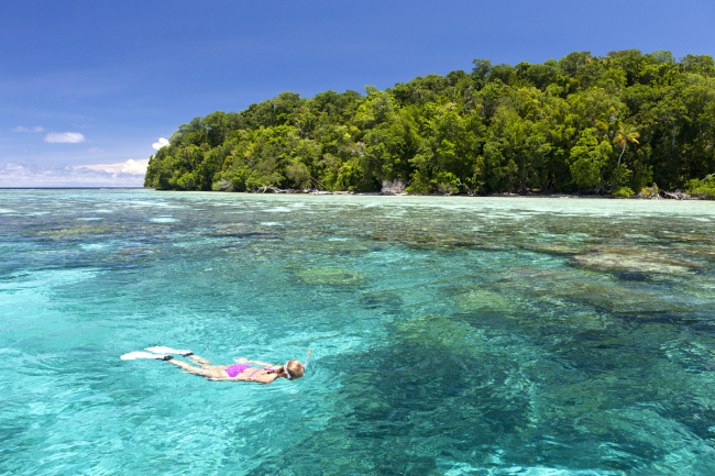 A view of the Solomon Islands. [File Photo: VCG]