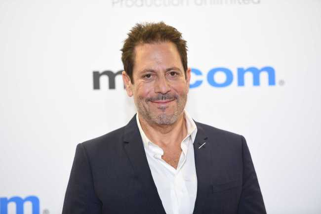 Darren Star attends the opening ceremony of the MIPCOM 2019 on October 14th, 2019 in Cannes, France. [Photo: IC]