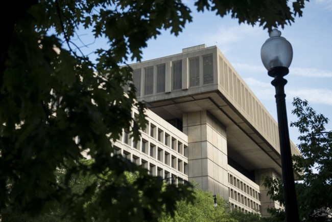 A view of the J. Edgar Hoover Building, the headquarters for the Federal Bureau of Investigation (FBI), on May 3, 2013 in Washington, D.C. [File Photo: AFP]