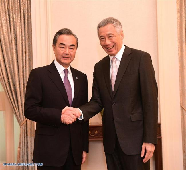 China y Singapur acuerdan promover multilateralismo